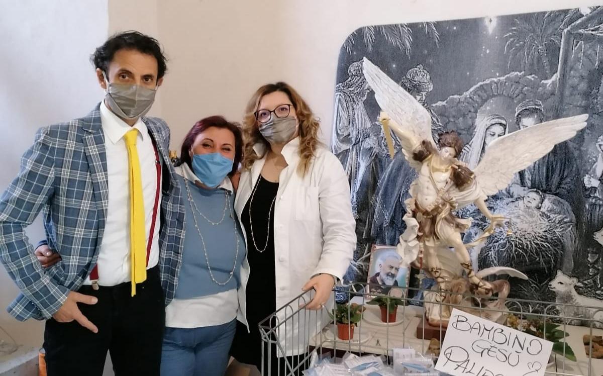 Coronavirus, le iniziative di solidarietà del laboratorio tessile Denì Service di Donato Cirella
